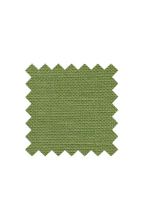 32 count linen to embroider  50 x 70cm swatch - Col. Frog