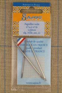 Three sail needles assortment n°14, n°15, n°16