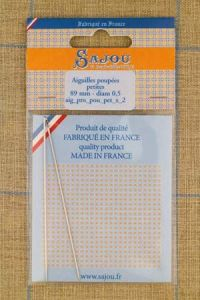 Two Doll making needles - small