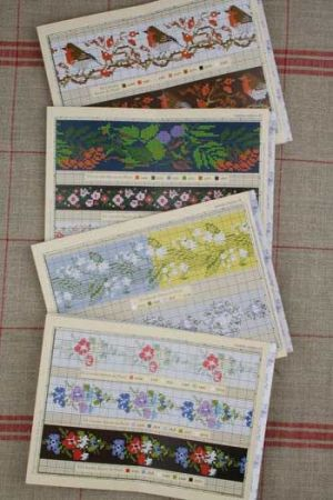 Sajou Album n° 905 crosstitch - red series