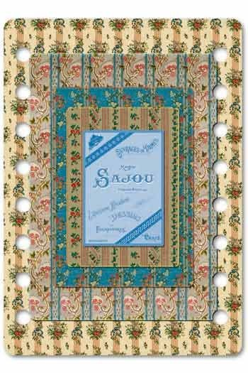 Sajou thread organiser Niort Model -19th century wallpapers.