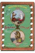 Sajou thread organiser Oléron Model - cat and dog winding