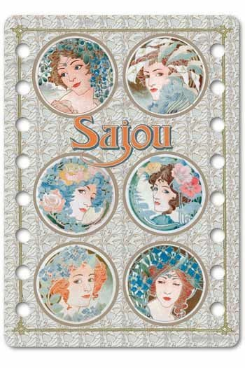 Sajou thread organiser Royan Model - Art Nouveau style