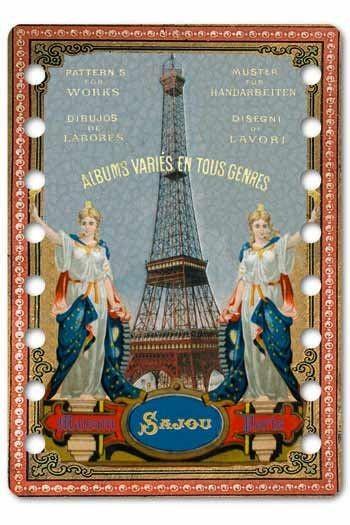 Organiseur de fils Sajou tour Eiffel - Modèle Saintes
