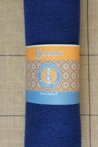 Boiled wool swatch - 50 x 70cm - Colour Blue