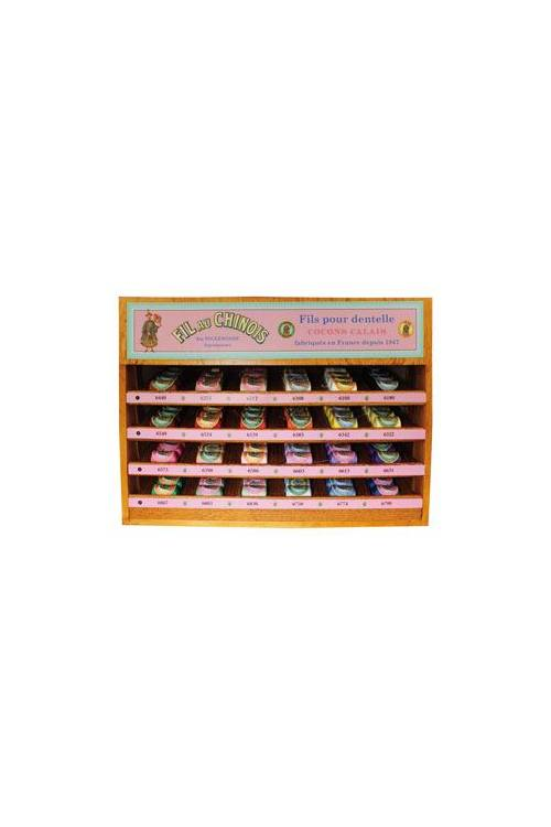 Calais cocoon display case 24 classic colours