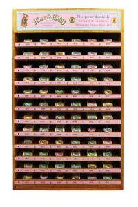 Calais cocoons display case complete range