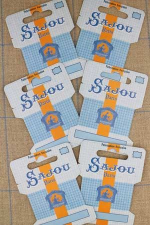 Ribbon and thread storage cards - Comptoir Sajou