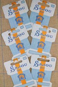 Six ribbon and thread storage cards  - Comptoir Sajou Model
