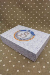 Large storage box for ribbon cards