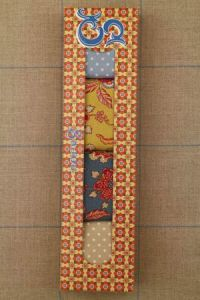 """Sajou gift box Assort. 4 four """"indienne"""" swatches 50 x 55cm"""