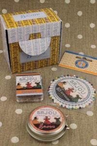 Buy together: Sajou girls sewing needles and baby cocoons in a gift box