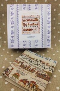 Buy together: Sajou Bayeux kit and linen printed tea towel