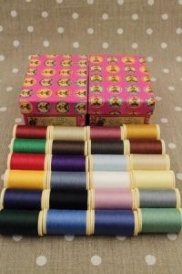 Buy together: Fil Au Chinois Patchwork sewing thread assortments 1 and 2