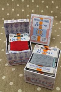 Buy together: Sajou Retors du Nord embroidery floss assortments 3 and 4