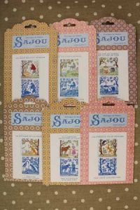 Buy together: six Sajou La Fontaine's Fables pattern charts series 1