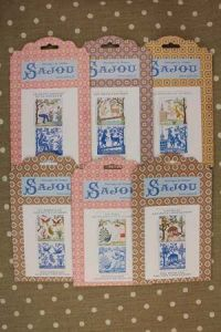 Buy together: six Sajou La Fontaine's Fables pattern charts series 2