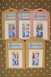 Buy together: five Sajou Grimm Fairy Tales pattern charts