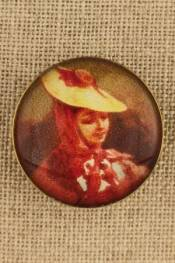 Nice - Costumes vintage-style button