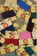 Fil Au Chinois waxed cable linen 10m cards