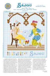 Cross stitch pattern Perrault's fairy tale Cinderella