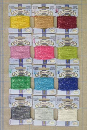 Discovery assortment Tonkin thread small box - 12 modern colours