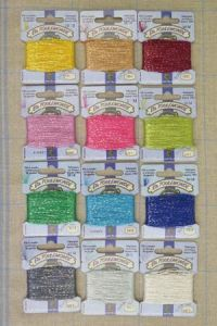 Tonkin embroidery thread polyester Assort. 2 - 12 moderns colours
