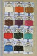 Tonkin embroidery thread polyester Assort. 1 - 12 vintage colours