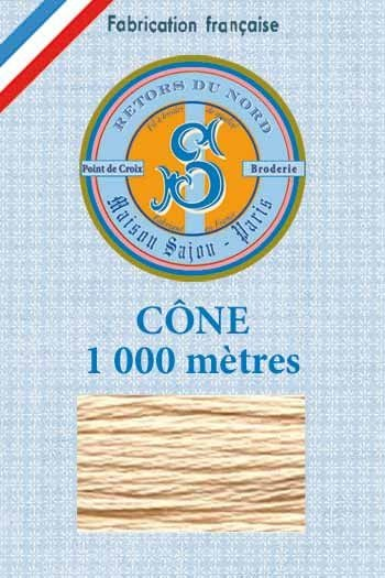 Embroidery floss cone Sajou Retors du Nord n°2348 Flesh