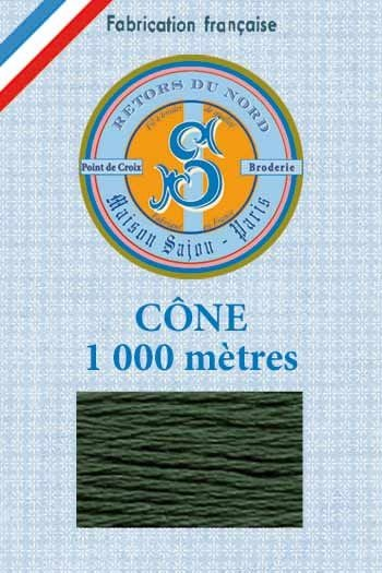Embroidery floss cone Sajou Retors du Nord n°2012 bottle