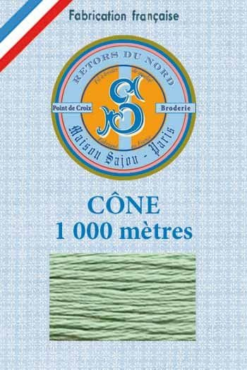 Embroidery floss cone Sajou Retors du Nord n°2449 nile
