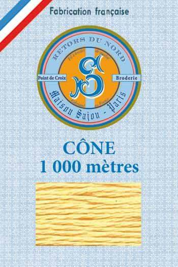 Embroidery floss cone Sajou Retors du Nord n°2040 Dawn