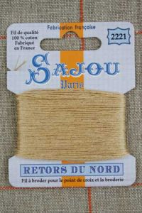 Embroidery thread Sajou Retors du Nord 2221 Caramel