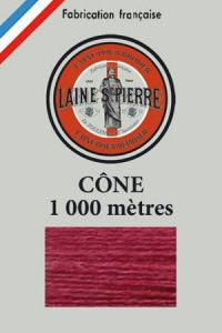 Laine Saint-Pierre 1000m cone - colour n°536 Redcurrent