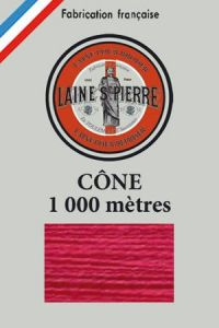 Laine Saint-Pierre 1000m cone - colour n°506 Cherry