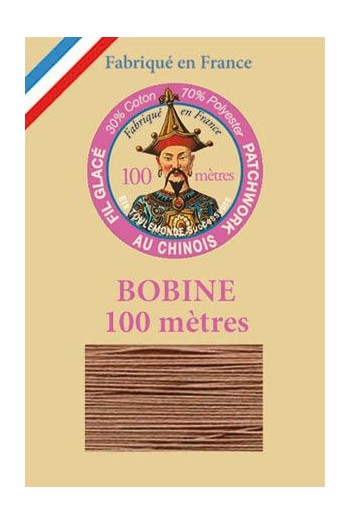 Waxed patchwork thread 100m spool - Col.290 - chestnut