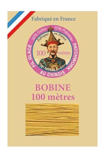 Fil glacé pour patchwork bobine 100 m Col. 783 Moutarde