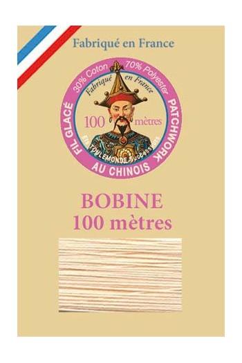 Fil glacé pour patchwork bobine 100 m Col. 556 Poudre