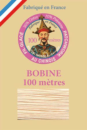Waxed patchwork thread 100m spool - Col.556 - Powder