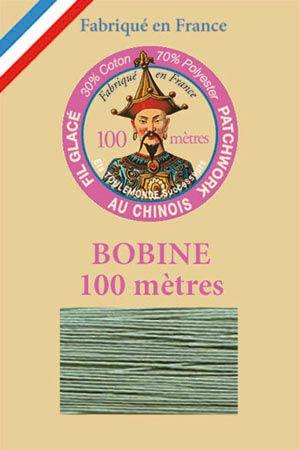 Handquiltgarn gewachst 100 m - Nr. 100 Kupfergrün