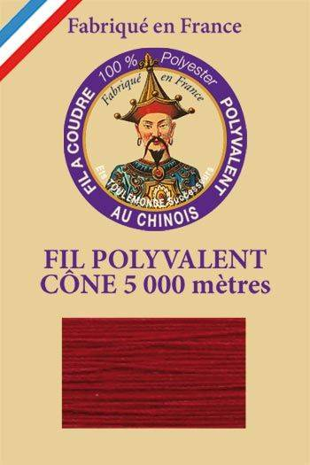 Polyester sewing thread 5000m cone - Col. 226 Dark Red