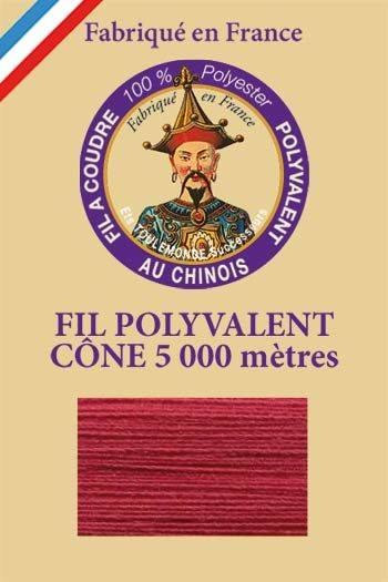 Polyester sewing thread 5000m cone - Col. 506 Raspberry