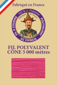Polyester sewing thread 5000m cone - Col. 148 Indian pink