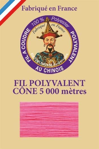 Polyester sewing thread 5000m cone - Col. 997 Neon pink