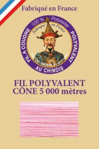 Polyester sewing thread 5000m cone - Col. 5560 camelia