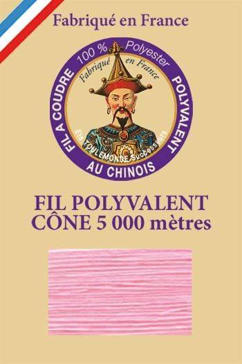 Polyester sewing thread 5000m cone - Col. 377 Pink