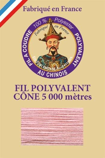 Polyester sewing thread 5000m cone - Col. 590 Rosewood