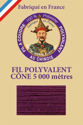 Polyester sewing thread 5000m cone - Col. 542 Purple