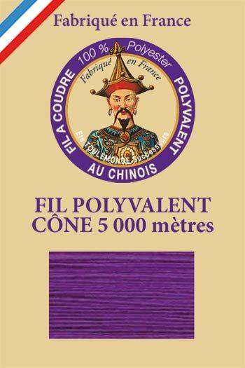Polyester sewing thread 5000m cone - Col. 421 Mauve