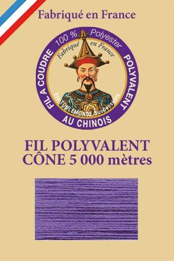Polyester sewing thread 5000m cone - Col. 612 Iris